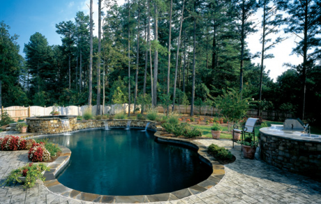 Custom In Ground Pool